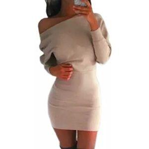 Off Shoulders Paris Mini Dress